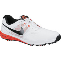 NIKE LUNAR COMMAND MEDIUM GOLF SHOE WHITE/BLACK/CRIMSON 704427-100 - 2015