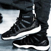 Free shipping-Air Jordan 11 Tide brand men's and women's sports cushioning basketball shoes