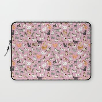 CATS Laptop Sleeve by yumi tashiro