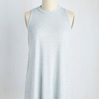 Love of Loose Leaf Top in Sky | Mod Retro Vintage Short Sleeve Shirts | ModCloth.com