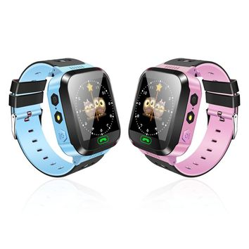 Y03 Kid/Child's Smart Watch (Anti-Lost, GPS, SOS, Call Location Tracker)
