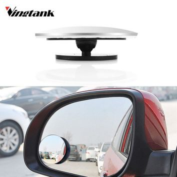 Vingtank Car Rear View Mirror Wide Angle Blind Spot Mirror Round Convex Parking Mirror Car Auto Parking Assistan Accessories