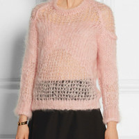Pink Long Sleeve Knitted Top