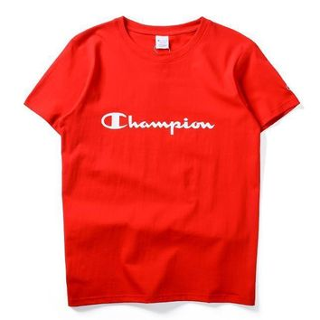Champion Fashion Casual Shirt Top Tee-23