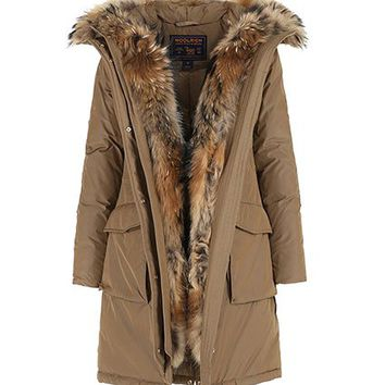 Women's Military Down Parka - John Rich & Bros.