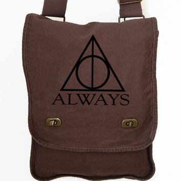 Messenger Bag - Always Harry Potter Canvas Bag