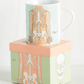 You Get the Biologist Mug in Mint | Mod Retro Vintage Kitchen | ModCloth.com