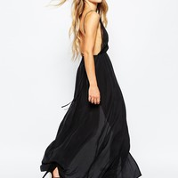 Jen's Pirate Booty Evening Star Maxi Dress in Silk