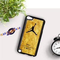 Michael Jordan Golden Gold Pattern iPod Touch 6 Case Planetscase.com