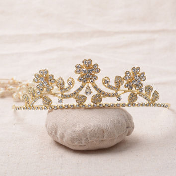 Accessory Alloy Rhinestone Headwear Hair Accessories Wedding Dress Prom Dress [6258315462]