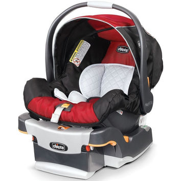 Chicco Keyfit 30 Infant Child Safety Car Seat & Base Fire 4 - 30 lbs NEW