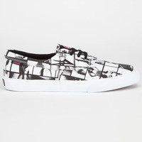 Lakai Van Styles Camby Mens Shoes Black/White  In Sizes