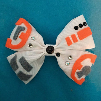 BB8 Star Wars Hair Bow