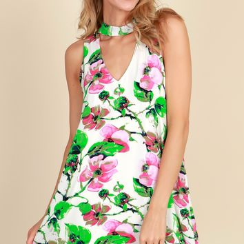 Spring's Lily Here Dress White