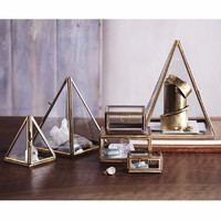 Pyramid Glass Display Boxes