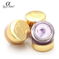 Rosalind Professional Eyes Makeup Glitter Single Color Eye Shadow Gel Party Cosmetics 16 Colors Optional Brand Love Alpha
