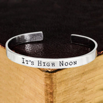 It's High Noon - Overwatch - Video Games - Aluminum Bracelet