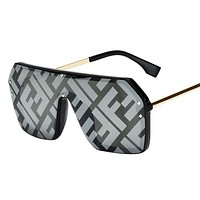 Fendi Fashion New Polarized Sunscreen Travel Glasses Eyeglasses Women