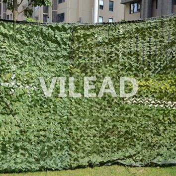 VILEAD 2M*6M Jungle Camo Netting Green Digital Camouflage Netting For Sniper Camping Theme Party Decoration Outdoor Sun Shelter