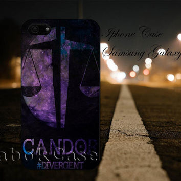 Divergent Candor Faction Nebula For - iPhone 4 4S iPhone 5 5S 5C and Samsung Galaxy S3 S4 S5 Case