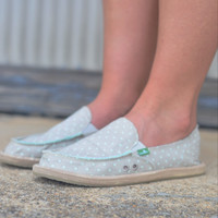 Sanuk Hot Dotty  {Mint} | SWF10588 NMDT