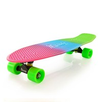 "Penny Skateboards USA Penny Nickel Fluro Fade 27"" Original Plastic Skateboard"