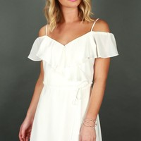 Weekend On The Coast Dress in White