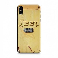 Jeep Cj5 Logo iPhone X Case