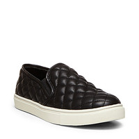 Steve Madden Black Quilted Shoes