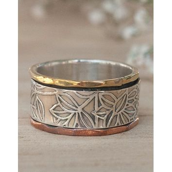 Flo Meditation Spinner Ring (BJS022)