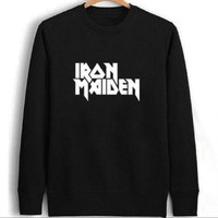 PEAPIH3 [Iron Maiden] English sweater personality lovers