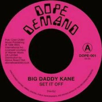 Big Daddy Kane - Set It Off [7'']