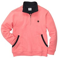 Thomas Pullover in Salmon by Southern Proper