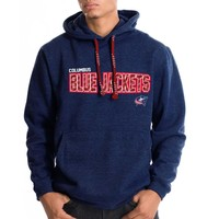 Columbus Blue Jackets Sideline Applique Lace Hoodie