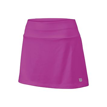 "Wilson Girl's Core 11"" Tennis Skirt - Pink"