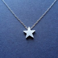 Cute Simple Star, Charm Pendant, Necklace
