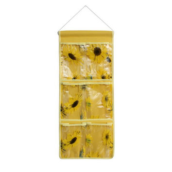 [Sunflowers] Yellow/Wall Hanging/ Wall Organizers / Baskets / Hanging Baskets (10*23)