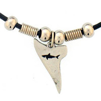 Earth Spirit Necklace - Shark Tooth