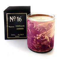 Wood Candle No. 16 Vintage Amber
