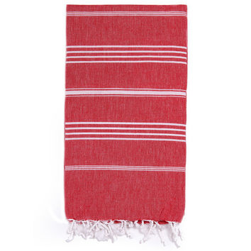 Turkish-T - Beach Towel | Red