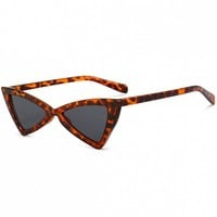 Anti-fatigue Full Frame Decoration Irregular Butterfly Sunglasses
