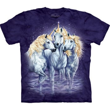 Unicorns Find Ten Kids T-Shirt