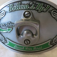 Buckle Belt Buckle  Bottle Opener Metal