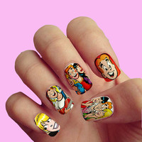 Archie Comic Book  Pop Art Vintage Comics - Nail Art - Nail Decals