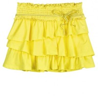 Tiered Knit Skirt With Belt | Girls Skirts & Skorts Clothes | Shop Justice