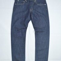 EDWIN ED-55 Jeans in 120z Blue Rinsed