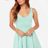 LULUS Exclusive Close to You Mint Blue Dress
