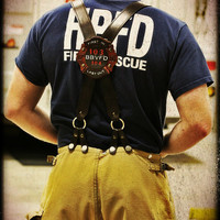 Custom Firefighter Suspenders
