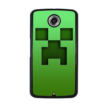 creeper minecraft nexus 6 case cover  number 2