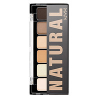 The Natural NYX Eye Shadow Palette